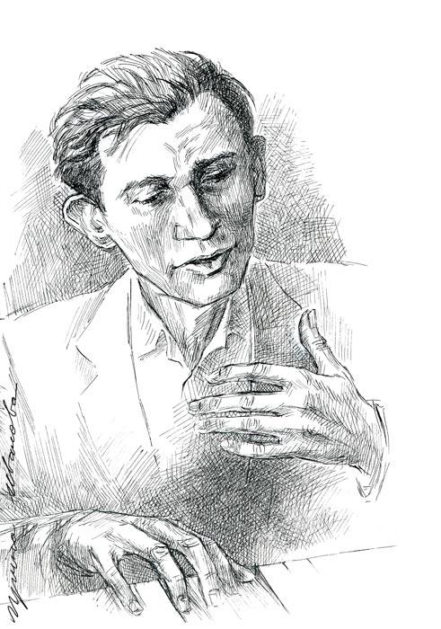 Glenn Gould by Avika